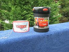 Disney Pixar Cars World Grand Prix Thermos Food Jar Lighting McQueen~New