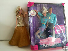 3in1: BARBIE & KEN USA OLYMPIC TEAM FIGURE SKATER (2 DOLLS) 1997 MATTEL +1 Doll