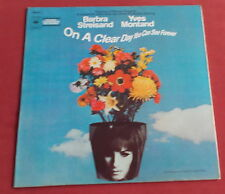 ON A CLEAR DAY YOU CAN SEE FOREVER   LP HOLLAND BOF OST NELSON RIDDLE
