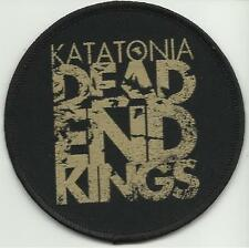 KATATONIA dead end kings 2014 - circular WOVEN SEW ON PATCH official merchandise