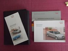 AUDI A4 CABRIOLET / CONVERTIBLE (2005 - 2009) OWNERS MANUAL - HANDBOOK (AU 534)