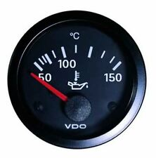 MK2 GOLF  VDO Temp Gauge 52mm Black Cockpit Vision Celcius [5]