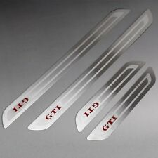Stainless Steel Door sill scuff plate Guards Sills Trim for VW GOLF GTI MK6 MKVI