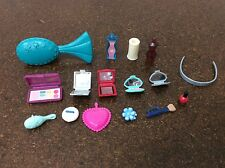 Barbie Doll Make Up & Other Beauty Pieces Lot Barbie Scale Compacts Polish #29