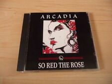 CD Arcadia - So red the rose - 1985 incl. Election Day & The Promise - RARE