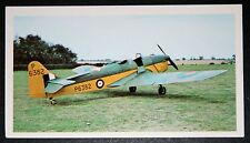 RAF Miles Magister   World War 2 Trainer     Colour Photo Card  VGC