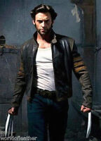 X-Men Wolverine Logans XO Leather Jacket Biker Style BNWT