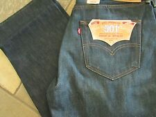 NEW LEVIS 501 STRAIGHT LEG BUTTON FLY JEANS MENS 36X32 005011433 FREE SHIP