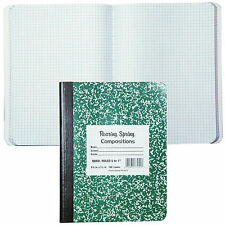"""Roaring Spring 77255 Composition Book, 5x5 Quad Ruled, 9-3/4 x 7-1/2"""""""