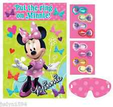 PIN THE RING ON MINNIE MOUSE PARTY GAME FOR UP TO 8 PLAYERS BOWTIQUE DISNEY