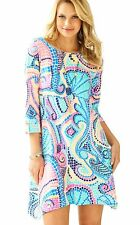 NWT Lilly Pulitzer Edna Dress Multi Tile Wave Reduced sz Small