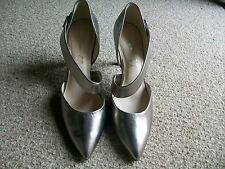 Autograph Metallic Leather Strap Court Shoes, Size 8 (Eur.42), M&S, BNWT  £55