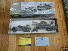 Corgi Classics 1:50 US Army Diamond T Tank Transporter M60A1 Medium Tank #55101