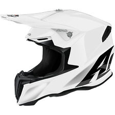 Casco Moto Cross Airoh Twist Modello Color Bianco Gloss New 2016 TG M
