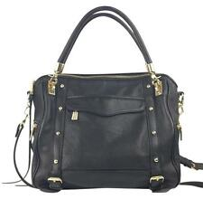 Rebecca Minkoff Black Leather Cupid Satchel