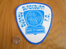 VINTAGE BLACKBURN ROVERS LARGE SEW ON CLOTH PATCH/BADGE