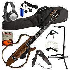Yamaha SLG200N Silent Guitar - Natural COMPLETE GUITAR BUNDLE