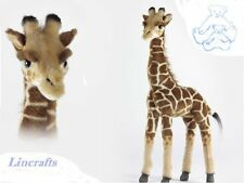 Giraffe Standing Plush Soft Toy by Hansa 3429