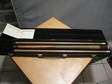 Vintage Herman Rambow 2 Piece Pool Cue Titlist Conversion Maple Rosewood