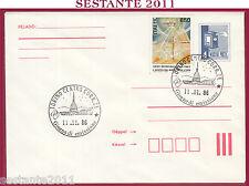 ITALIA FDC MAGYAR POST ANNO MONDIALE DELLA PACE 1986 ANNULLO TORINO T587