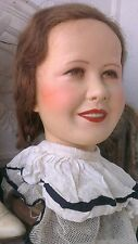 Great vintage Kathe kruse mannequin head ,1940´s