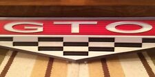 GTO Car Pontiac Motor Coupe Muscle METAL BAR WALL DECOR U.S.A. GARAGE MAN CAVE