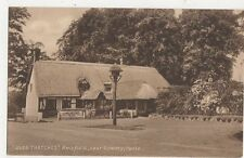 Olde Thatches Ampfield Romsey Vintage Postcard Hampshire 260a