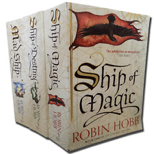 Robin Hobb Collection 3 Books Set The Liveship Traders inc Ship of Destiny etc