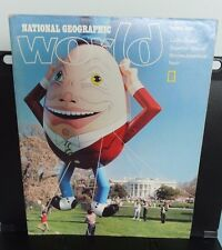 National Geographic ~ WORLD magazine -- APRIL 1987 ~ Junior Members