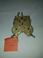 New Haven Early 1900 Brass MANTLE/SHELF Clock Movement 8 DAY #2