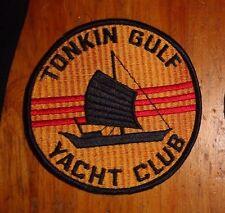 U.S.NAVY, TONKIN GULF YACHT CLUB, 1960'S TO 75,  4.75 INCHES