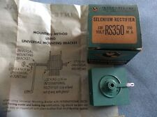 VINTAGE NEW INTERNATIONAL SELENIUM RECTIFIER  IN ORIGINAL BOX WITH INSTRUCTIONS