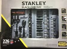 Stanley 226-Piece Mechanics Tool Set in Black Chrome in Hard Case(STMT80275)
