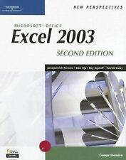 New Perspectives on Microsoft Office Excel 2003, Comprehensive (New Perspectives