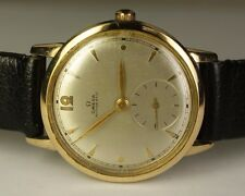 1947 Omega 14K Gold Filled Cal. 28.10 Bumper Automatic Vintage Swiss Watch