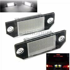 2x Xenon White LED Upgrade Number Plate Light for Ford Focus C-MAX Error Free