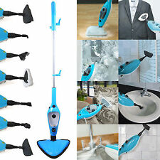 12-in-1 1500W HOT STEAM MOP CLEANER HAND HELD STEAMER FLOOR CARPET WINDOW WASHER