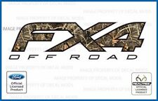 set of 2: 12 13 14 Ford F150 FX4 Off Road Decals - Realtree Max4 stickers camo