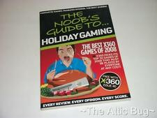 XBOX 360 ~ X360 Magazine ~ The Noob's Guide to...Holiday Gaming
