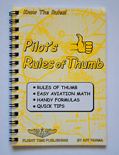 Pilot's Rules of Thumb by Art Parma - Flight-Time Publishing