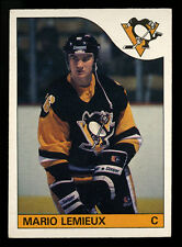 1985-86 O-PEE-CHEE OPC HOCKEY~#9~MARIO LEMIEUX~CENTERED~PRICED TO SELL (PTS)