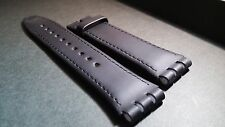 Genuine Leather, Genuine Swatch strap / bands leather 23/20mm (slight mark on
