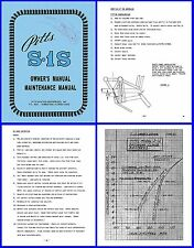 Pitts Special S-1S Owners Manual, Maintenance Manual on CD