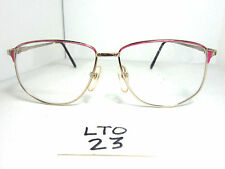 Nos Vtg 1980s Squared Unmarked Eyeglass Frame #Nicole Purple Womens (Lto-23)