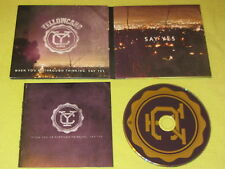 Yellowcard When You're When You're Through Thinking, Say Yes 2011 CD Album Rock