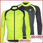 Cycling Bicycle Bike Outdoor Top Jersey Shirt Long Sleeve Full Zip