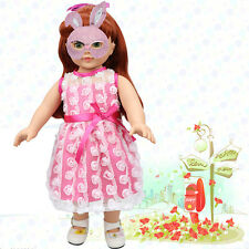 Fashion Cute Doll Clothes Dress for 18 inch American Girl Doll Baby Kids Toys