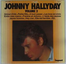 Johnny Hallyday 33 Tours Compilation Impact 6371 141