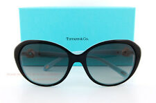 Brand New Tiffany & Co. Sunglasses 4098 8055 3C Black/Grey Women
