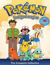 Pokemon: Season 1 Indigo League The Complete Collect (DVD, 2014, 9-Disc Set) NEW